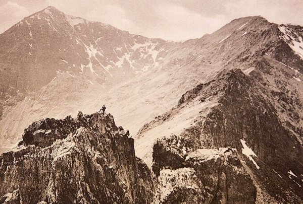 Необыкновенные изображения сделаные первыми в мире альпинизма фотографами..!!! - №7