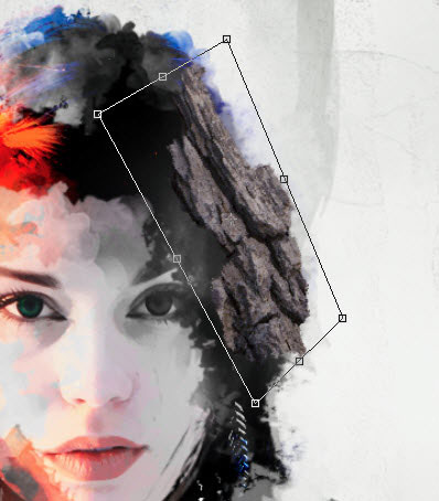 арт портрет в Фотошопе