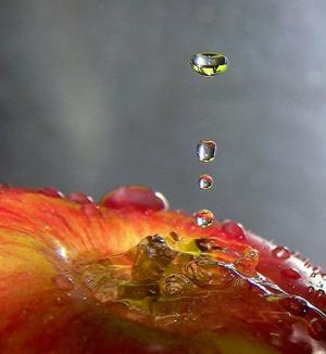фотографии капель воды