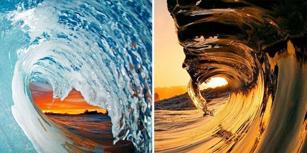 о морских волнах