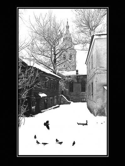 Старый дворик   /   The Old Courtyard