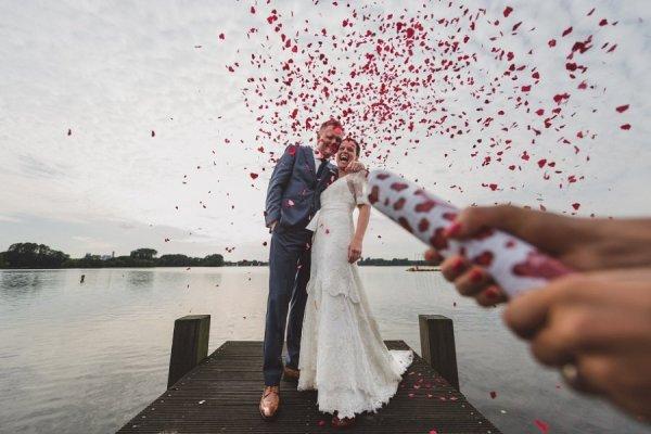красивые свадебные фотографии - © Ronald de Bie