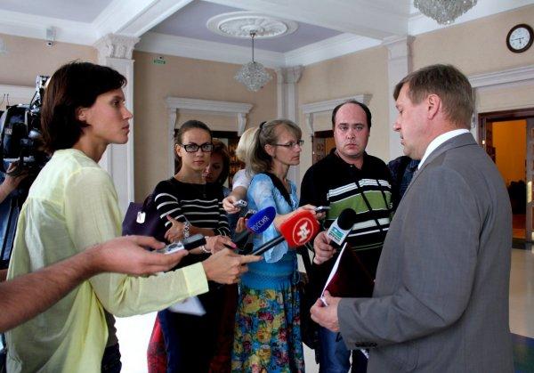 пресс-подход мэра А