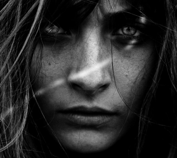 Черно-белые портреты