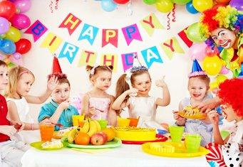съемка детского дня рождения
