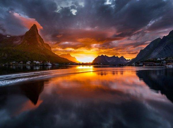 Закаты солнца