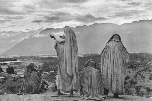 Кашмир, 1948 г. уличный стиль фото