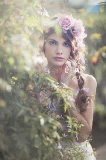 как сделать цветочный венок