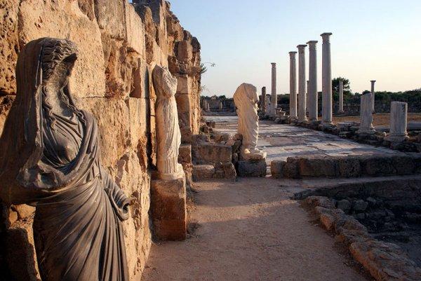 Древний город Саламис на турецкой территории