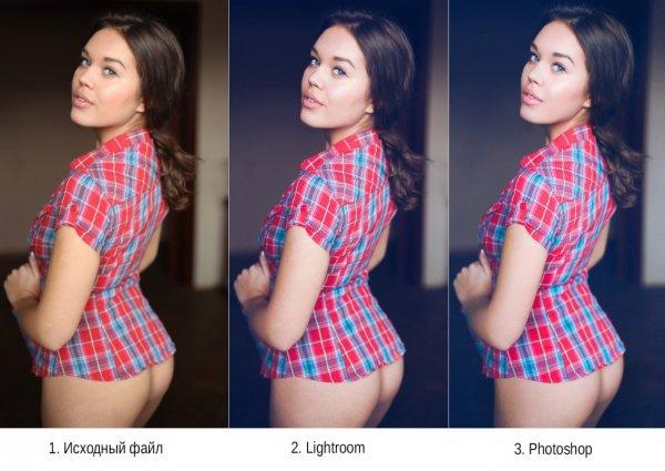 быстрая обработка фотографий.