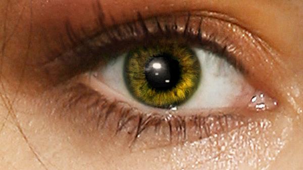Глаз крупно, после обработки.