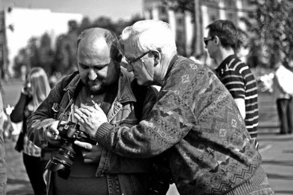 Обмен опытом (фото Дима Карпов)