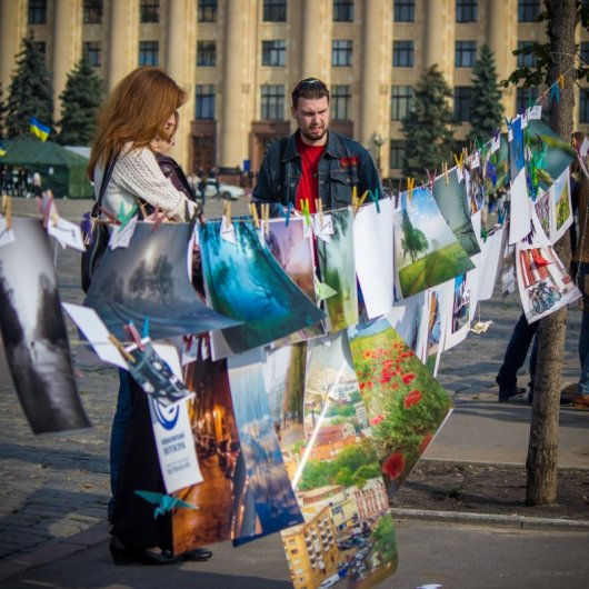 """Разноформатные фотографии от """"харьковского фотоклуба"""""""