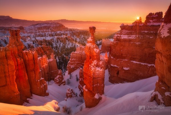 Красота природы - Восход в Брайс-Каньоне