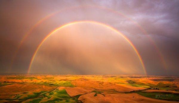 Красота природы - Двойная радуга