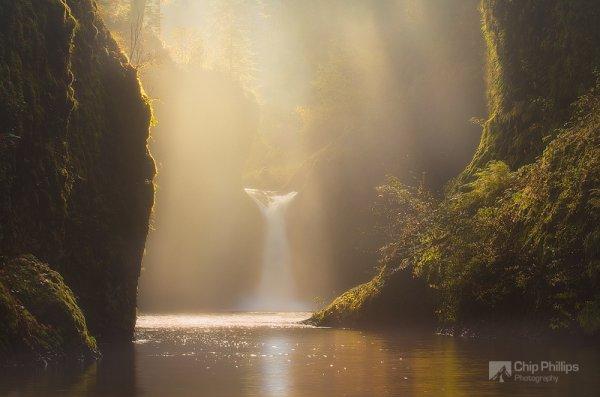 красота природы фото - Дымка
