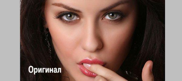 фото макияж фотошоп