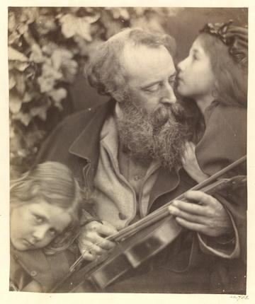 Джулия Маргарет Кэмерон. Шепот музы, 1865. © Victoria and Albert Museum, Лондон