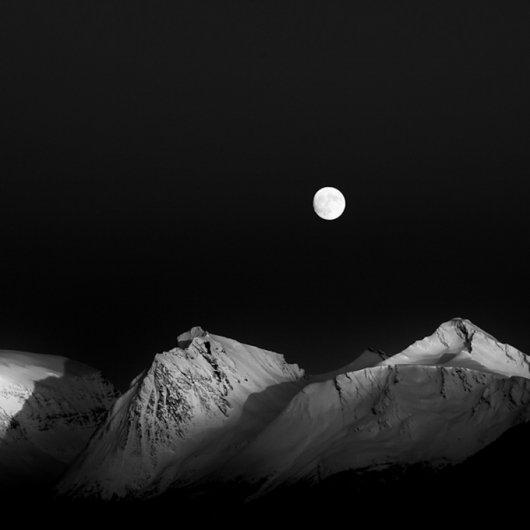 черно-белый пейзаж 2