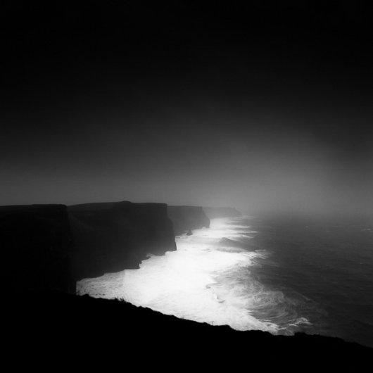 черно-белый пейзаж 6