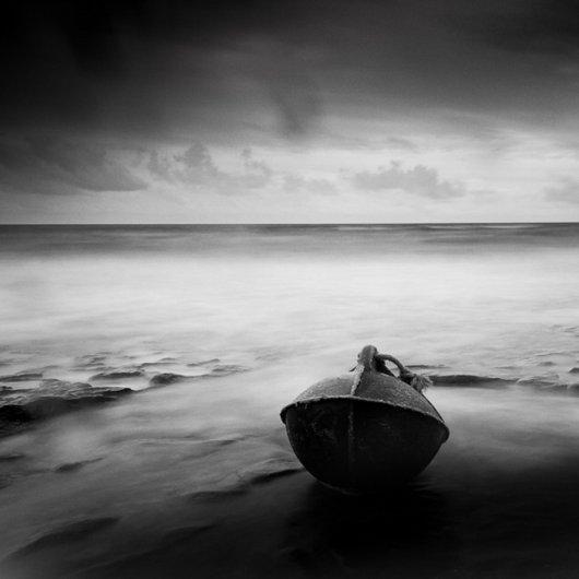 черно-белый пейзаж 14